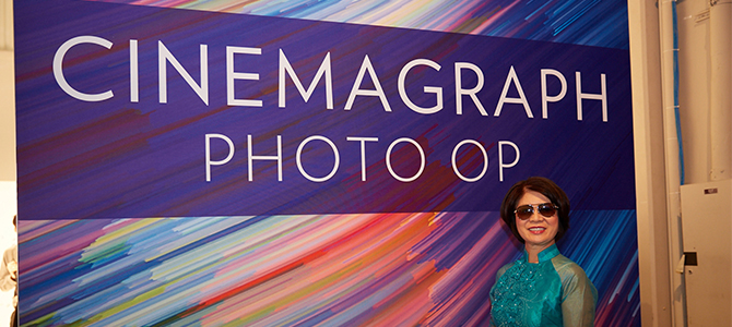 Cinemagraph Photo Op and Nu Skin Americas Convention